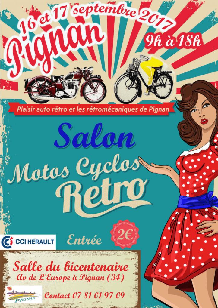 Salon Motos Cyclos à Pignan