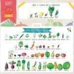 Fruits et légumes d'Août